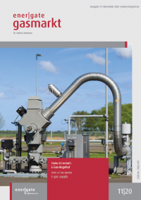Cover of energate Gasmarkt 11|20