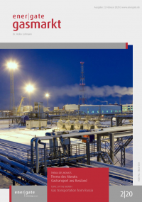 Cover of energate Gasmarkt 02|20
