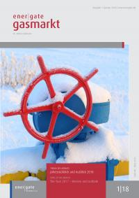 Cover of energate Gasmarkt 01|18