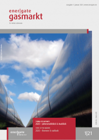 Cover of energate Gasmarkt 01|21