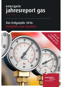 Cover of Jahresreport Gas |2016